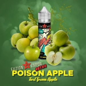 Fuzion Vapor Poison Apple 50ml Shortfill