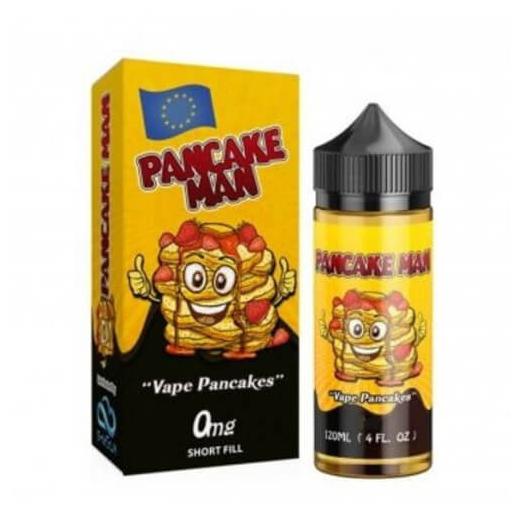 Pancake Man - Vape Breakfast Classics Shortfill - Bakery - se.ismokeking.se