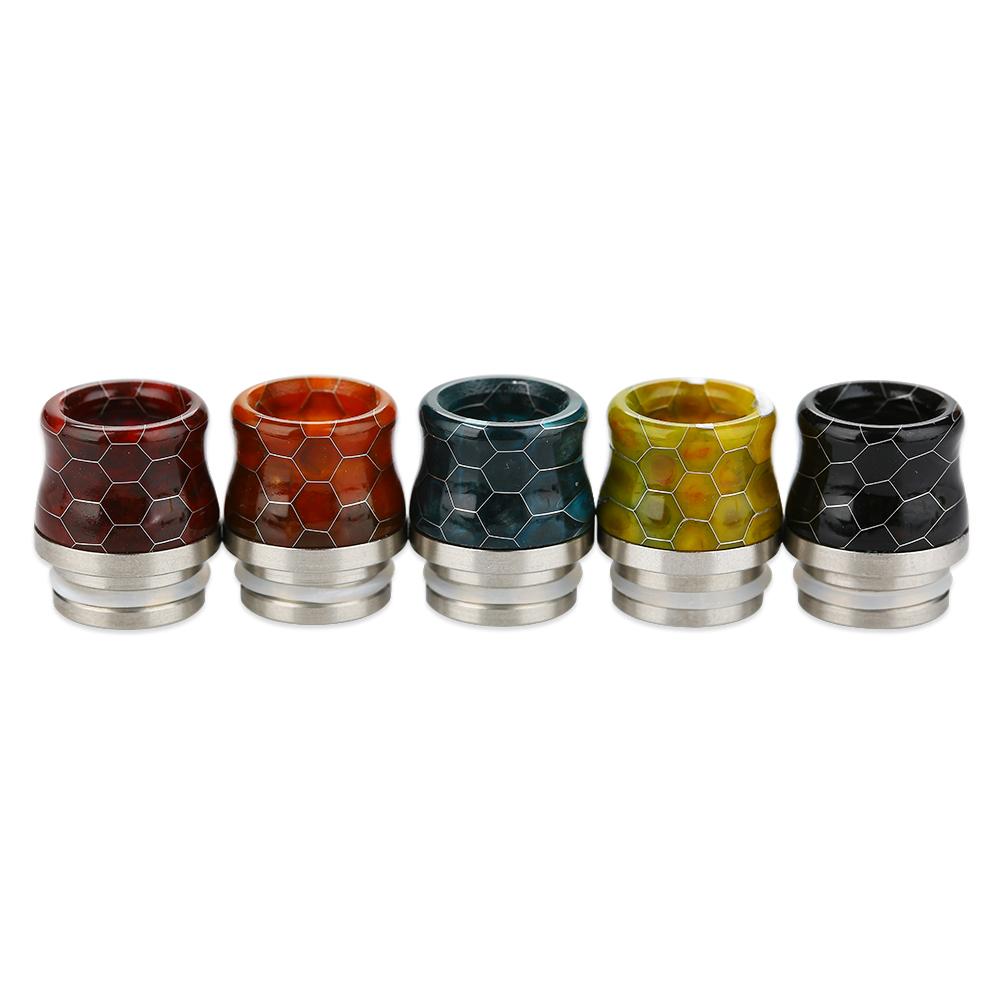 Snakeskin 510 Resin Drip Tip for TFV8 Baby