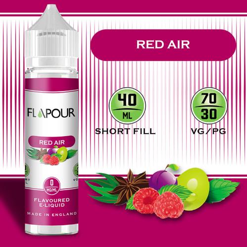 Flapour Red Air ShortfillE-Liquids, Shortfill, MTL Shortfills