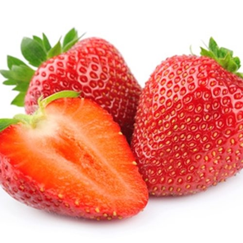 This is a fresh, natural strawberry flavor