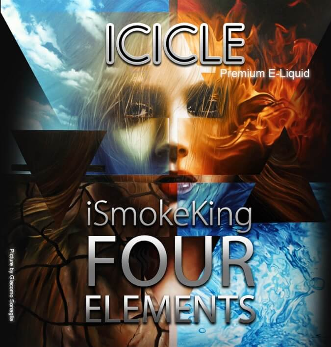 four elements e-liquids icicle