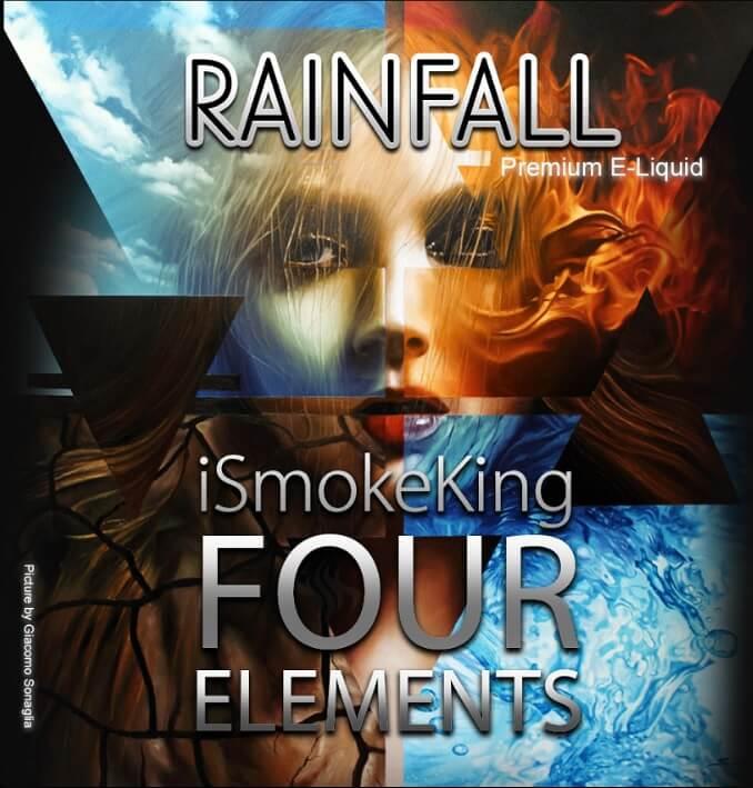 four elements e-liquids rainfall