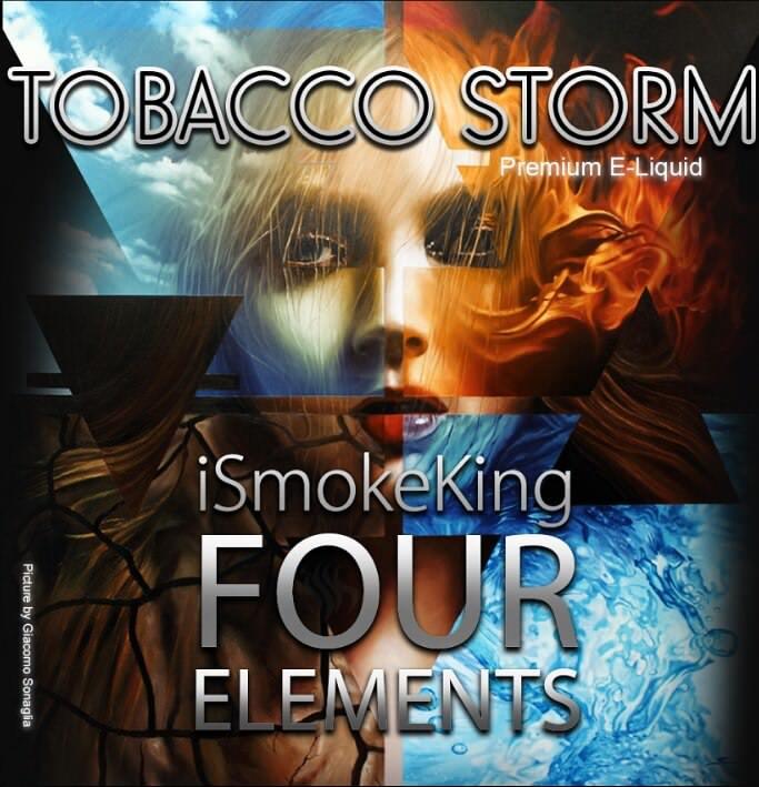 four elements e-liquids tobacco storm