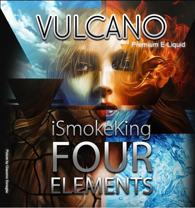 four elements e-liquids tobacco vulcano