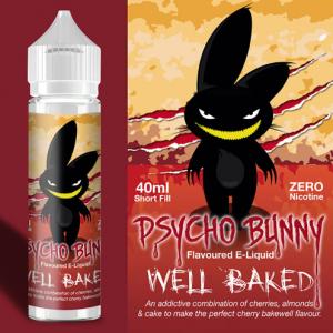 Flapour, Psycho Bunny Well Baked VG80 PG20 - 0mg, E-Liquids, Shortfill, MTL Shortfills