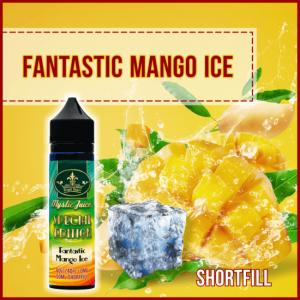 Mystic Juice Fantastic Mango Ice, E-Liquids, Shortfill, MTL Shortfills