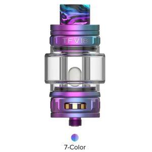 SMOK TFV18 Sub Ohm Tank 7 Color Rainbow