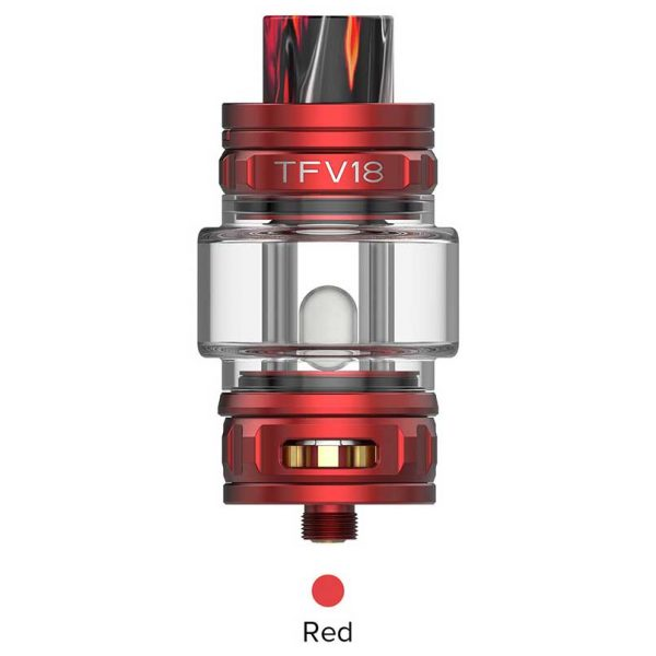 SMOK TFV18 Sub Ohm Tank Red