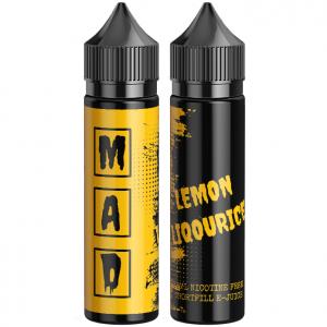 The Mad Scientist Lemon Liqourice cintron lakrits godis vape ejuice