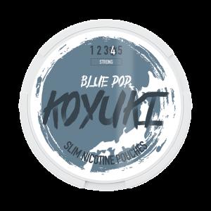 KOYUKI's All White - Nikotinpåsar -BLUE POP tobaksfri snus