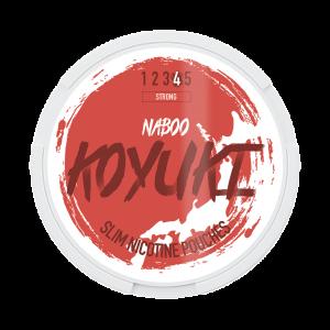 KOYUKI's All White Nikotinpåsar - NABOO (Stark) tobaksfri snus