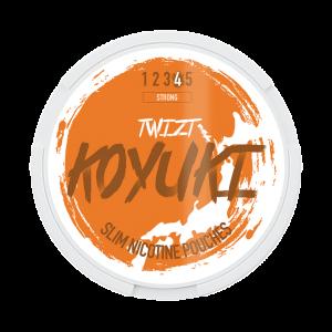 KOYUKI's All White Nikotinpåsar - TWIZT (Stark)